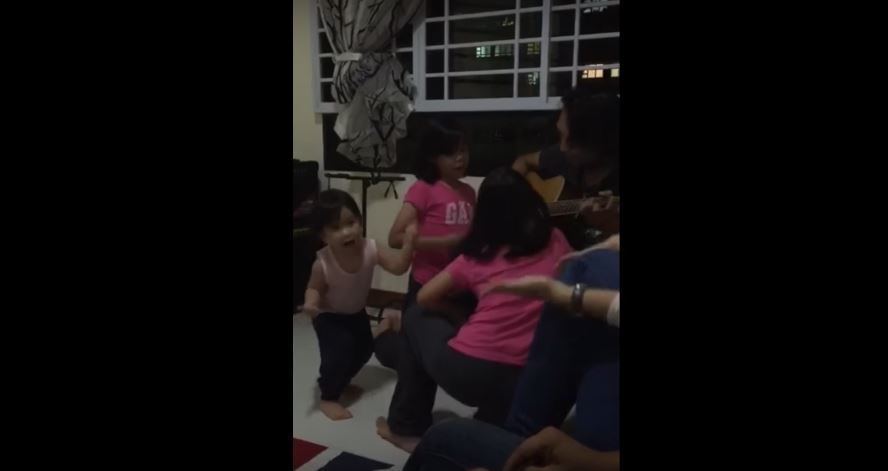 Watch This Adorable Little Girl Give Herself the Cutest Pep Talk Ever